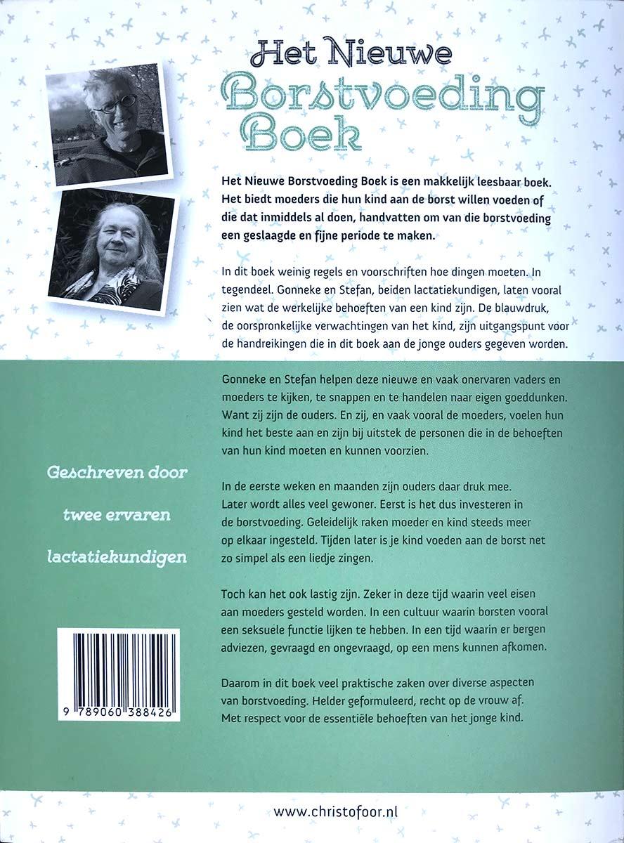 Het Nieuwe Borstvoeding Boek Achterkant