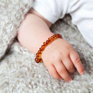 Barnsteen armband