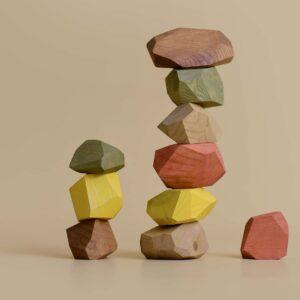 minmin balancing stones - earthy