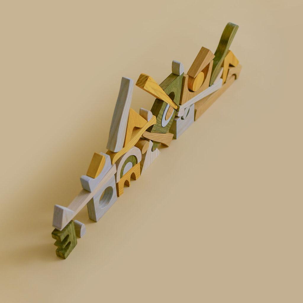 minmin houten puzzel